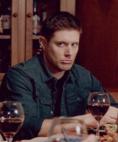Dean's pouty face tho!!!<<< I don't think he knows what to do so he just defaults