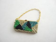 Wasting Gold Paper: Tips and Tricks for Making My Beaded Handbag Tutorial