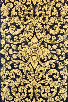 Thai Pattern, Batik Pattern, Stencil Patterns, Zentangle Patterns, Muay Thai Tattoo, Tanjore Painting, Tibetan Art, Thai Art, Lace Tattoo