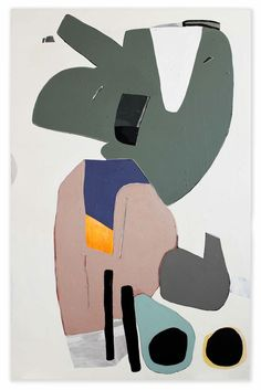 """exasperated-viewer-on-air: """" Hayal Pozanti - A Tear of Petrol, 2012 acrylic on canvas 72 x 47 inches """""""