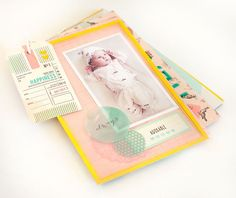Baby Mini Album by MarieL at @Studio_Calico
