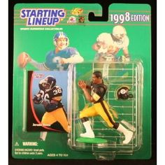JEROME BETTIS / PITTSBURGH STEELERS 1998 NFL Starting Lineup Action Figure & Exclusive NFL Collector Trading Card (Toy)  http://ruskinmls.com/pinterestamz.php?p=B000MVTLKW  B000MVTLKW