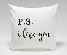 vYQt / Vankúš I Love You, Bed Pillows, Pillow Cases, Pillows, Te Amo, Je T'aime, Love You