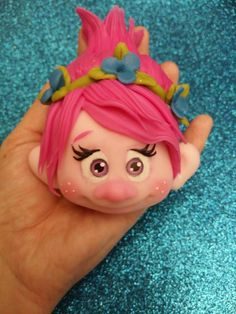 ~ FONDANT FUN ~Princess Poppy Troll design
