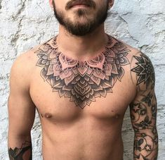 Matt stopps tatuagem buda, tatuagem no peito, tatuagem mandala, frases tatuagem, tatuagem Chest Tattoo Script, Eagle Chest Tattoo, Full Chest Tattoos, Chest Piece Tattoos, Pieces Tattoo, Upper Arm Tattoos, Mandala Brust Tattoo, Mandala Tattoo Mann, Mandalas Tattoos