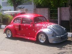 tito_monsterauto 1972 Volkswagen Beetle Specs, Photos, Modification Info at CarDomain My Dream Car, Dream Cars, Vw Super Beetle, Beetle Bug, Volkswagon Bug, Bugs, Bug Car, Vw Classic, Vw Cars