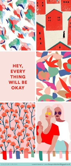 Colour crush... | loveprintstudio | Bloglovin'