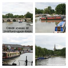 The Canal basin is a hub of activity with lots of holiday barges and narrow boats visiting the port.