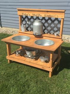 Kids outdoor mud kitchen More #playhousesforoutside