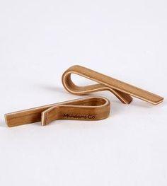 Cherry Wood Tie Bar
