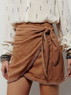 Sydnie wrap skirt. Skirt only, not with that top!!