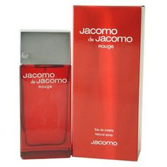 Jacomo De Jacomo Rouge Men's Fragrance 3.4-Ounce Eau de Toilette Spray