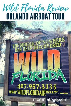 Everglades Airboat Tour with Wild Florida - Momma To Go