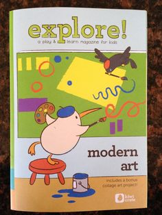 "September Kiwi Crate - ""Modern Art"""