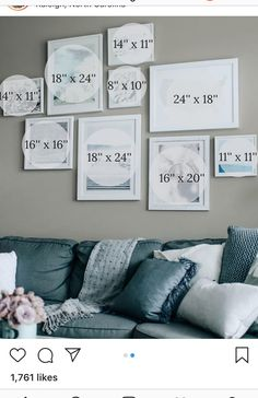 31 Hottest Wall Gallery Design Ideas For Perfect Wall Decor wandge. 31 Hottest Wall Gallery Design Ideas For Perfect Wall Decor wandgestaltung 31 Hottest wall collage bedroom layout Family Wall Decor, Photo Wall Decor, Photo Wall Collage, Room Wall Decor, Gallery Wall Layout, Photo Wall Layout, Gallery Walls, Travel Gallery Wall, Inspiration Wand