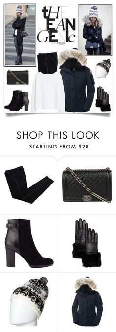 """""""Untitled #1175"""" by ruru833 ❤ liked on Polyvore featuring COSTUME NATIONAL, Chanel, Jigsaw, Echo, Burton, Canada Goose, MANGO, women's clothing, women and female"""
