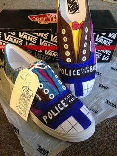 Doctor Who Vans  - Haley