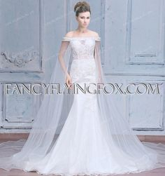fancyflyingfox.com Offers High Quality New Classic Off Shoulder Mermaid Bridal Gown 2016,Priced At Only US$348.00 (Free Shipping)