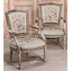 antique furniture pair antique dagobert armchairs www inessa com