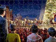Free online jigsaw puzzle features The Polar Express.