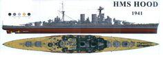 Hms Hood, Heavy Cruiser, Capital Ship, Heavy And Light, Navy Ships, Aircraft Carrier, Royal Navy, Battleship, World War Two