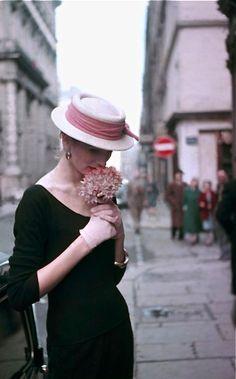 Suzy Parker, Paris 1953, Georges Dambier