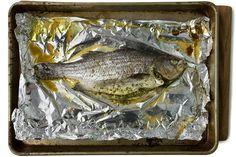 Roasted Fish with Thai Pesto Recipe