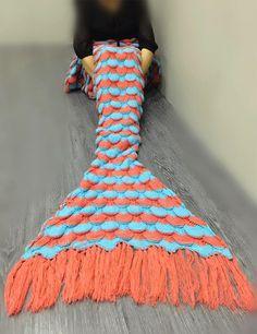 26.00$  Buy now - https://alitems.com/g/1e8d114494b01f4c715516525dc3e8/?i=5&ulp=https%3A%2F%2Fwww.aliexpress.com%2Fitem%2FMermaid-Scales-Fringed-yarn-knitted-Mermaid-Tail-blanket-handmade-crochet-mermaid-blanket-adult-throw-bed-Wrap%2F32708546654.html - Mermaid Scales Fringed yarn knitted Mermaid Tail blanket handmade crochet mermaid blanket adult throw bed Wrap soft sleeping bag 26.00$