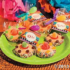 Delicious treats for a fiesta, plus a free printable tag