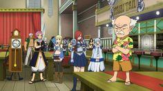 Fairy Tail Episode 206   Erza, Yukino, Happy