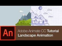 Nature Landscape: Drawing and 2D Animation | Animate CC Tutorial - YouTube
