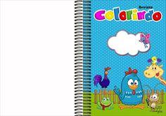 Kit Digital da Galinha pintadinha e sua turma para festa de aniversário.