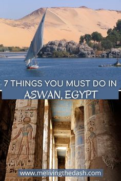 If you're planning a trip to Aswan, Egypt. Then you'll find this guide very helpful. Inside this guide you'll find the top 7 things to do in Aswan, a flexible itinerary depending on how long you're going to stay in Aswan, accommodation options, how to get to Aswan from Cairo. This is a very detailed travel guide on Aswan. #travel #egypt #aswan #nubian #abusimbel #beautifulplaces #luxor Africa Destinations, Amazing Destinations, Travel Destinations, Egypt Travel, Africa Travel, Travel Guides, Travel Tips, Cairo Tower, Modern Egypt