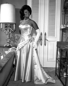 This 1962 Charles Williams image shows Brenda A. English, the first African American Rose Queen candidate.