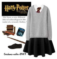 """""""Harry Potter Marathon"""" by fandoms-unite-3947 ❤ liked on Polyvore featuring LE3NO, Alice + Olivia, Uniqlo, Charlotte Russe, women's clothing, women, female, woman, misses and juniors"""