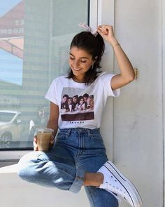 Vintage Outfits, Retro Outfits, Cute Casual Outfits, Summer Outfits, Vintage Clothing, Teen Fashion Outfits, Look Fashion, Girl Outfits, Teenager Outfits
