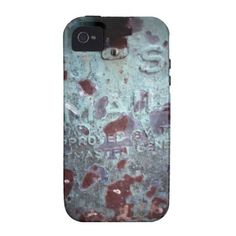 Old Rusted US Mailbox iPhone 4/4S Cover from Zazzle.com