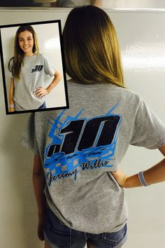 Racing Shirts Pit crew shirts Custom Racing by XtremeBowtiqueBows