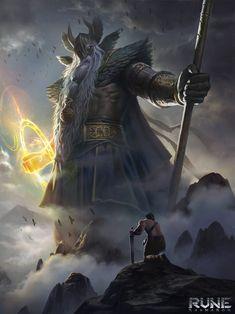 Rune: Ragnarok - Odin by KangJason.deviantart.com on @DeviantArt
