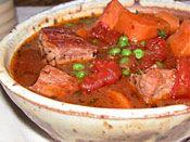 pork and sweet potato stew. Crockpot Recipes, Healthy Recipes, Stewed Potatoes, Eat To Live, Green Mountain, Pcos, Fall Recipes, I Foods, Crock Pot