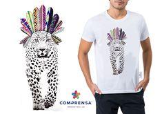 Our Apache Lion, made in Digital Print...  #digital #lion #print #comprensa #made #fashion #apache #portugal #photo