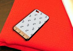 Cute Anchor Girly Pattern iPhone 4 iPhone 4S Case by caseboy, $15.79