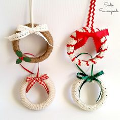 2843 best christmas decorations images on pinterest in 2018 xmas christmas 2017 and christmas decor - Homemade Christmas Decorations Pinterest