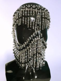 Galaxy Fashion, Dark Fashion, Tribal Face, Shoulder Necklace, Face Jewellery, Angel Outfit, Couture Accessories, Fashion Jewelry, Ideas