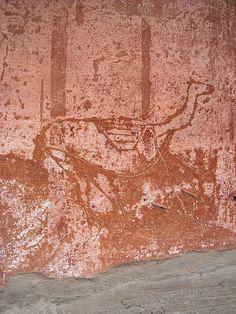 """Camel"" - Herculaneum, ""Samnitic House"" - Graffiti at Pompeii and Herculaneum by * Karl *, via Flickr"