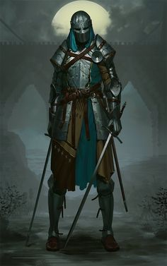 New Medieval Fantasy Art Knights Armors 56 Ideas, Dungeons And Dragons Characters, Dnd Characters, Fantasy Characters, Fantasy Warrior, Fantasy Inspiration, Character Inspiration, Fantasy Character Design, Character Art, Illustration Fantasy