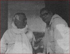Photos of Srila Bhakti Rakshak Sridhar Maharaj and Srila Bhakti Sundar Govinda Maharaj