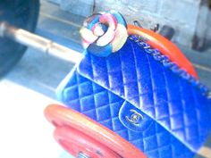 【YURIKALAMODE】JULICA designer's blog: my paris3. パリの思い出3 - PARIS BLUE #chanel