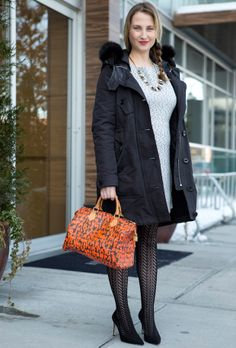 Our Fashion Director, Jackie Nasser, looking on point from head-to-toe. #LouisVuitton #BellaBag #NYFW #MBFW