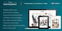 nice Tripod - Professional WordPress Photography Theme  #agency #atelier #clean #family #fashion #gallery #localization #modern #retina #seo #simple #SLIDESHOW #studio #unique #wedding